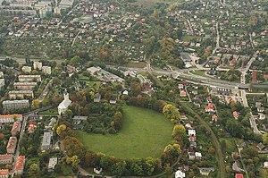 Earthworks (archaeology) - Image: Grodzisko w Bielsku Białej