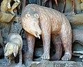 Grotta degli animali, sx, scuola del tribolo, orso.JPG