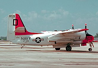Grumman S-2 Tracker - A TS-2A aircrew training version of the Tracker in 1976