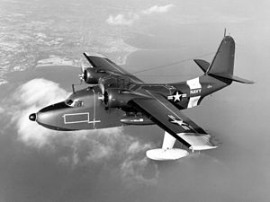 Grumman UF-1 Albatross USN in flight 1950s.jpeg