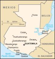 Guatemala-CIA WFB Map
