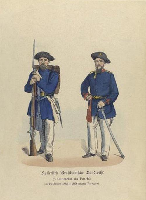 Guerra do Paraguai - Voluntários da Pátria