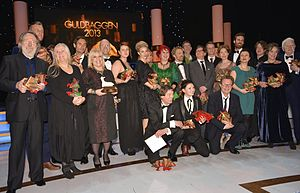 48th Guldbagge Awards - The winners of Guldbaggen 2013 at Cirkus in Stockholm.
