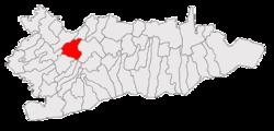 Vị trí của Gurbanesti
