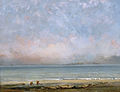 Gustave Courbet - The Beach at Trouville.jpg