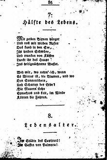 bekanntestes gedicht
