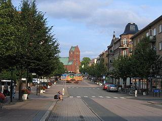 Hässleholm Place in Scania, Sweden