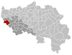 Héron Liège Bélgica Map.png