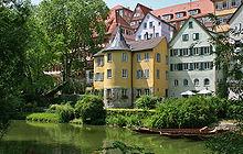 Der Hölderlinturm in Tübingen (Quelle: Wikimedia)