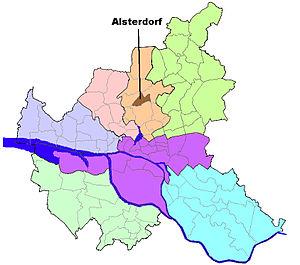 Alsterdorf - Image: HH Alsterdorf quarter