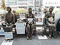HK 中環 Central 交易廣場 Exchange Square sculpture 慰安婦少女銅像 Comfort Women Statues January 2020 SS2.jpg