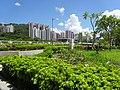 HK 屯門河 Tuen Mun River outdoor terrace garden green trees July 2016 DSC.jpg