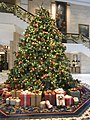 HK ISL Island Shangri-La Hong Kong 港島香格里拉酒店 hotel Christmas tree Dec-2012.JPG