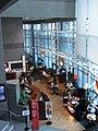 HK Kln Tong InnoCentre interior courtyard Pacific Coffee Co restaurant Sept-2012.JPG