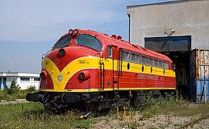 NSB Di 3 - HK NOHAB Di 3 006 of the Kosovo Railways