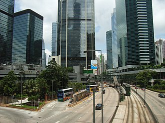 Queensway (Hong Kong) - Image: HK QWB traffic