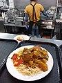 HK TKL 調景嶺 Tiu Keng Leng 明愛專上學院 CIHE Grove Cafe canteen restaurant Lunch food 咖喱雞扒 Curry Chicken Steak 碟頭飯 white plate spaghetti June 2019 SSG 01.jpg