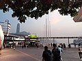 HK TST 尖沙咀 Tsim Sha Tsui 梳士巴利道 Salisbury Road 地標 五枝旗桿 5 Five Flagpoles 黃昏 evening September 2020 SS2 06.jpg