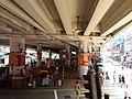 HK Tram tour view Causeway Bay 軒尼詩道 Hennessy Road 堅拿道行車天橋 Canal Road East flyover Bridge August 2018 SSG 02.jpg