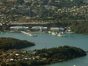 HMAS Waterhen (naval base) - HMAS Waterhen
