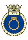 HMS Clyde's Crest
