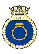HMS Clyde's Crest