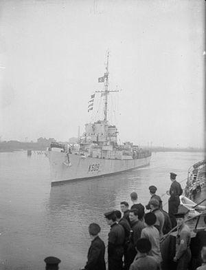 HMS Conn 1945 IWM A 28197
