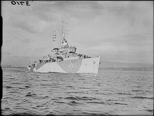 HMS Loyalty (J217) - Image: HMS Loyalty