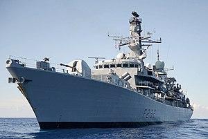 HMS Northumberland (F238) - Image: HMS Northumberland MOD 45154788