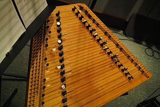 Hammered dulcimer - The Salzburger hackbrett, a chromatic version.