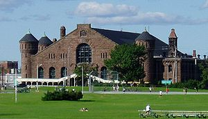 Halifax Armoury - The Halifax Armoury overlooking Halifax Common