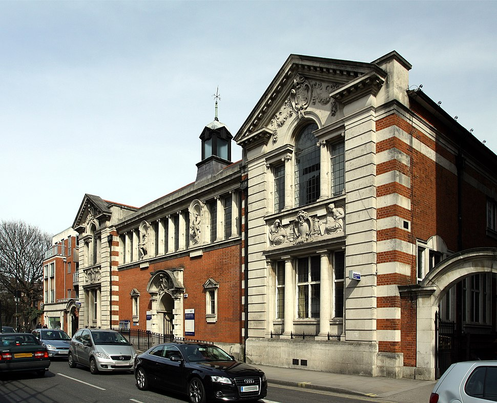 Hammersmith Library in London, spring 2013 (1)