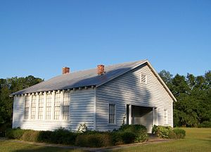 National Register of Historic Places listings in Hampton County, South Carolina - Image: Hampton Colored School 3