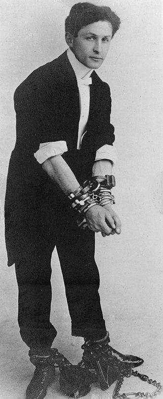 "Harry Houdini - ""Handcuff"" Harry Houdini, c. 1905"
