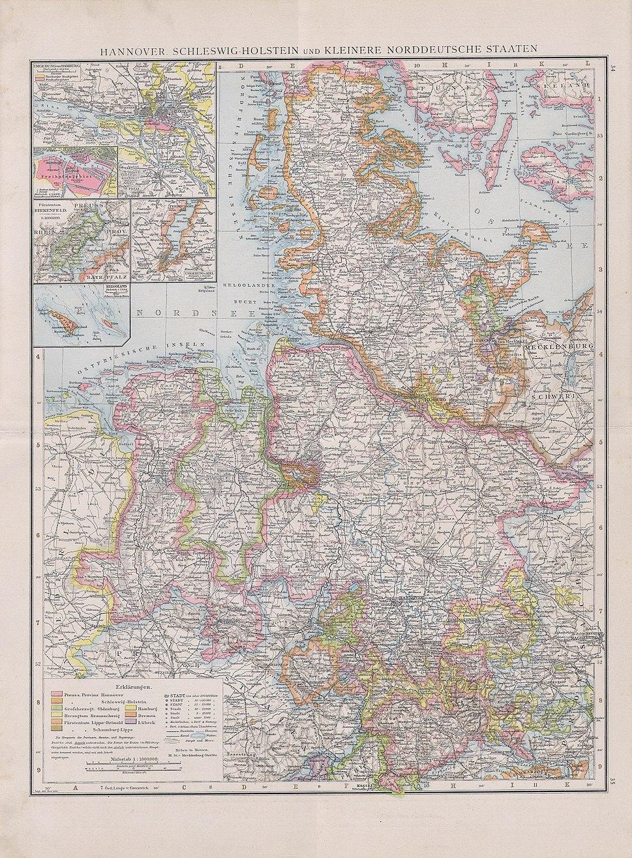 Hannover,Schleswig-Holstein und kleinere norddeutsche staaten