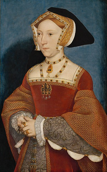 Hans Holbein Mlađi - Page 2 372px-Hans_Holbein_the_Younger_-_Jane_Seymour%2C_Queen_of_England_-_Google_Art_Project