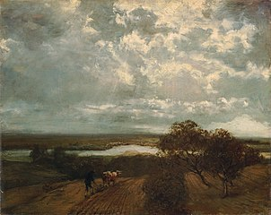 Landscape of the river Main