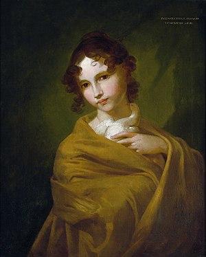 Veit Hanns Schnorr von Carolsfeld - Portrait of the artist's daughter, Juliane Ottilie, c1808