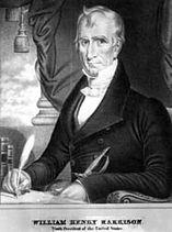 William H. Harrison, lithograph