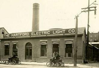 Hartford Electric Light Company - The Hartford Electric Light Company,   original Pearl Street plant, circa 1902