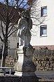 Haselbach in der Rhön, Hofgut, Nepomukstatue (MGK10722).jpg
