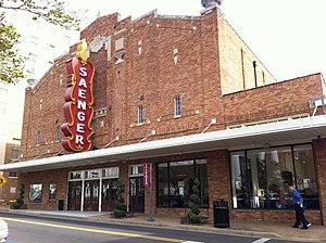 The Saenger Theatre in Hattiesburg, Mississipp...