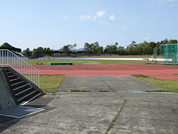 Hattori Ryokuchi track and field place.jpg