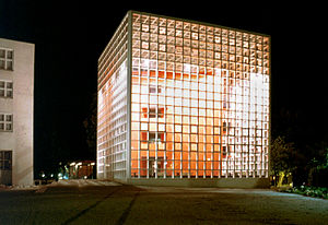 Braunschweig University of Art - The library of the HBK, which was the Mexican Pavilion on the Expo 2000
