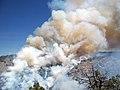 Heavy smoke from Taylor Fire (3910056419).jpg