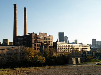 H. J. Heinz Company complex - Heinz complex seen from the north