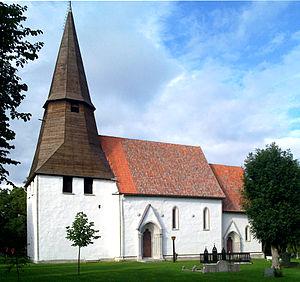 Hellvi Church - Image: Hellvi kyrka Gotland total 1