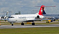 Helvetic Airways, Fokker F100, HB-JVC (18593008502).jpg