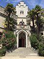 Hendaye château d'Abbadia entrée.jpg