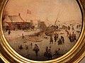 Hendrick avencamp, paesaggio invernale con pattinatori e giovatori di hockey, genova 02.JPG